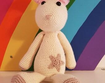 Handmade Crochet Easter Bunny Rabbit - Easter Gift
