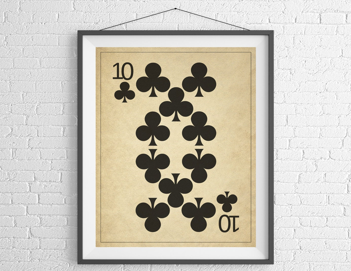 Playing Card Art, Game Room Decor, Game Room Art, Game Room Wall Art ...