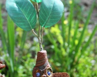 Mandrake, OOAK Clay Mandragora, Magical Root, Hogwarts Herbology, Harry Potter, Baby Mandrake, Shrieking Mandrake, Magical Plant