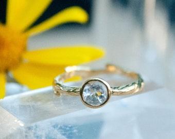 Hippie wedding ring | Etsy