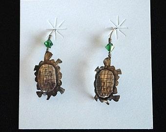 Earrings ~ SS Turtle