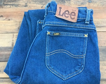 lee denim jeans | true blue | americana