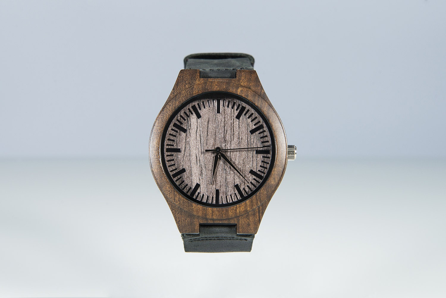 wooden watches engraved mens custom by
