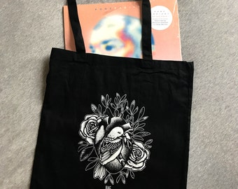 Tote Bag - bird's heart.