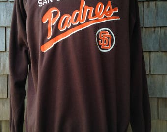 Vintage 80s San Diego Padres sweatshirt - Large / XL - Soft and thin
