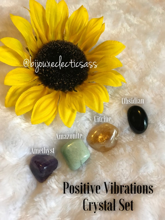 Positive Vibrations Crystal Set