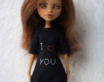 "Monster High clothes - Monster High outfits - EAH outfits ""I love you"""