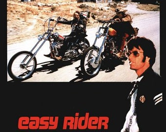 Easy Rider Movie Poster  A3/A2/A1 Print