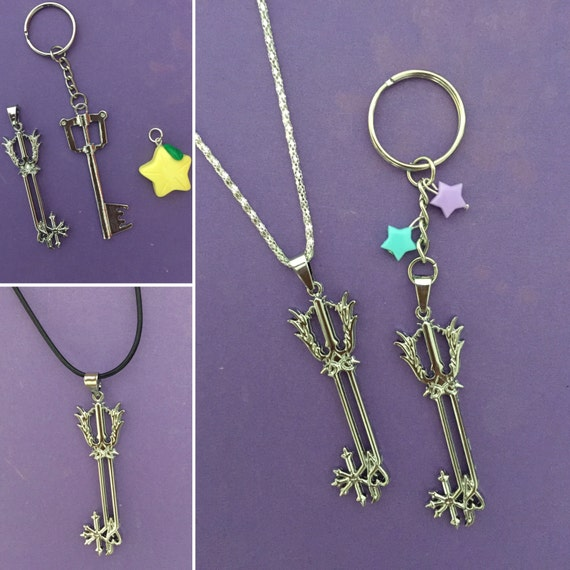 kingdom hearts keyblade necklace kingdom hearts by mikarya