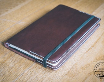 Journal Jacket   Leather Moleskine Journal Cover   Last Stitch Leather