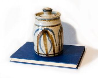 Studio Art Pottery Jar by BigMuddyVintageShop