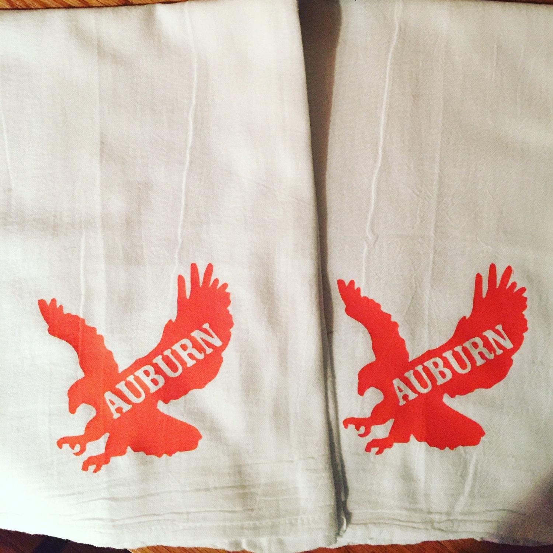 Auburn University Flour Sack Tea Towel Flour Sack Kitchen