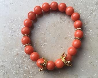 Orange Crush Bracelet