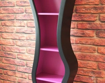 6ft Bendy / Curvy Character Bookcase Shelving Fairytale Disney Inspired