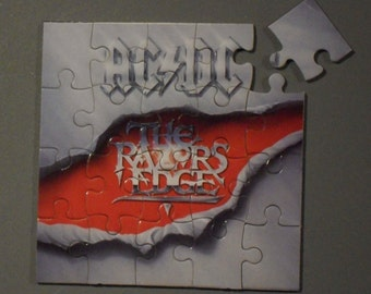 AC/DC Cd Cover Magnetic Puzzle