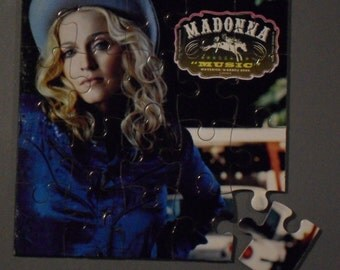 Madonna CD Cover Magnetic Puzzle