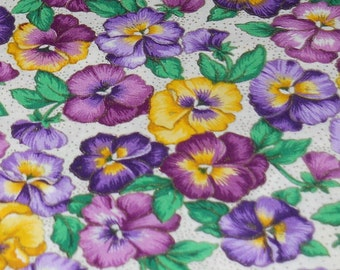 Pansy  Allover Fabric