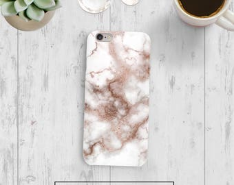 Rose Gold Marble Case, Rose Marble Case, iPhone 6s Marble, iPhone 7 Marble, Google Pixel Marble, Galaxy S8, Iphone 7 Plus, Galaxy S8 Plus
