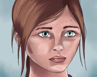 Ellie Digital Painting
