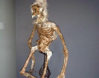 Himalayan Sacred Mummified Yeti Child (almost 3 feet tall)