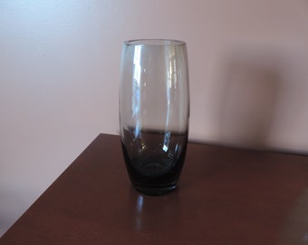 HOLMEGAARD smoked glass VASE-