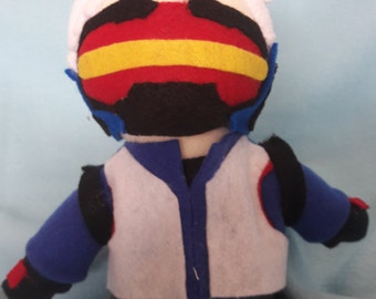 Overwatch Soldier 76 plush