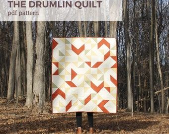 The Drumlin Quilt - PDF Pattern
