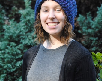Buttercup Beret Knitting Pattern : Items similar to Callista- Knit Hat Pattern on Etsy