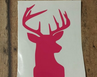 Deer Decal, Yeti Decal, Car Decal, Laptop decal