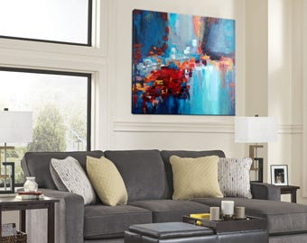 Oil Painting, Abstract painting, Original art, Heavy Texture, Painting On Canvas, Large wall art, Living Room Decor, Abstract Art, On Canvas