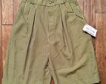 New: Vintage pleated long shorts