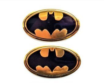 Batman Magnets in Decorative Tin | Set of 2 | Super Strong | DC Comics Magnets | Justice League Magnets | Superhero Magnets | Fridge Magnets