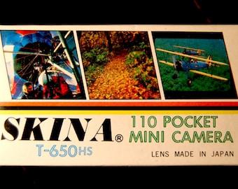 "Vintage photo camera ""Skina T-650"" - 70's - New !"