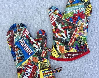 Medium Marvel Oven Mitts