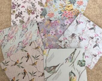 Handmade Envelopes   Envelopes   Modern Envelopes   Scrapbooking   Journaling   Vintage Patterned Envelopes