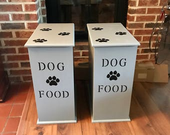 Dog Food Storage, Dog Food Container, Dog Food Bin, Pet Food Storage, Storage Container