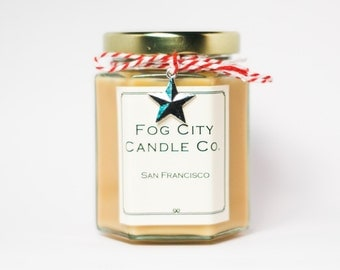 Vanilla - Handmade Scented Soy Candle - Gifts for Her, Gifts for Him, Home Decor, Birthday Gift - Best Scented Candles From SF!