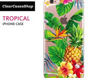 Tropical Leaves iPhone Case for iPhone 6/s & iPhone 6/s Plus [Shipped From UK]