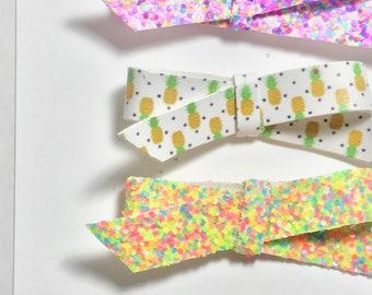 Sweet Pineapple/Hair Clip/Headband/Glitter Clips/Summer Clips/Pineapples
