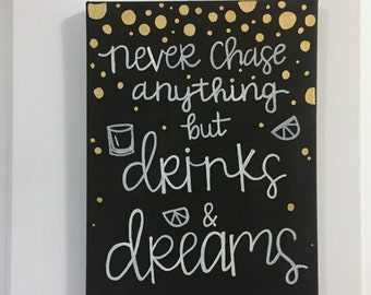 canvas painting quote
