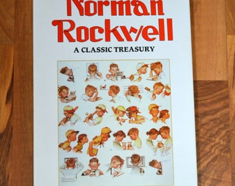 Norman Rockwell A Classic Treasury-1993