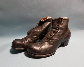Victorian Dress Boots, Men's Boots