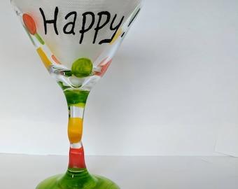 because I'm HAPPY!! Martini glasses