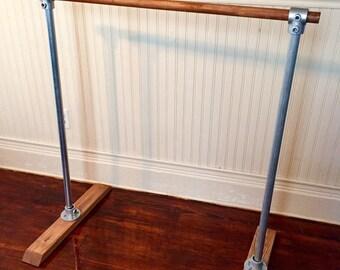 4' Wooden Single Portable Ballet Barre