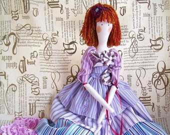 Handmade Tilda doll Muse