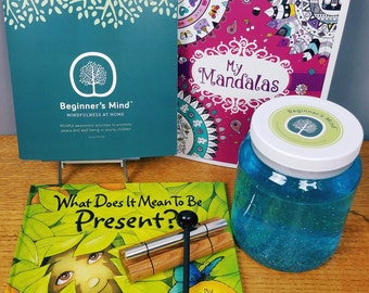 Mindfulness kit for kids (children) and their family