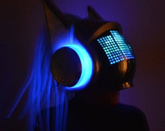 DJ Sona Cosplay Helmet (Kinetic Version)