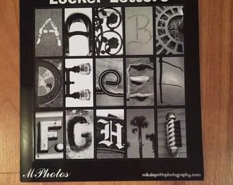 Locker Letter magnets BEACH SET