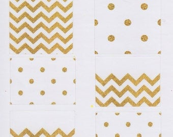 Gold Boxes | 331 | Planner Sticker | Kikki-K | Happy Planner | Erin Condren
