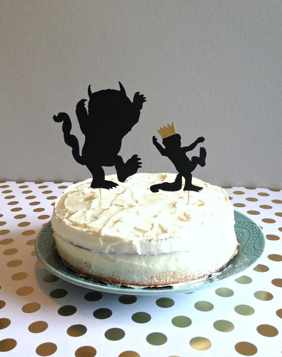 Where The Wild Things Are Cake Topper Where The Wild Things